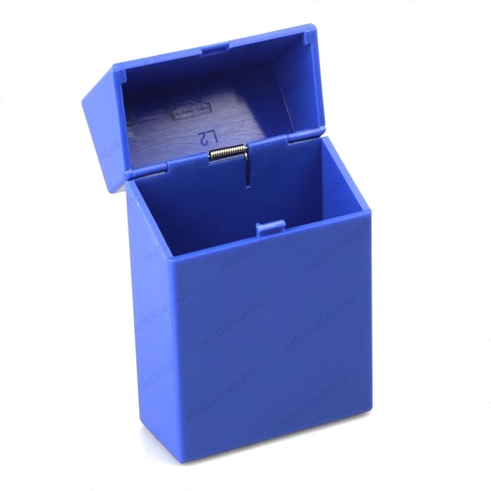 Cigarreira de Plástico - Azul