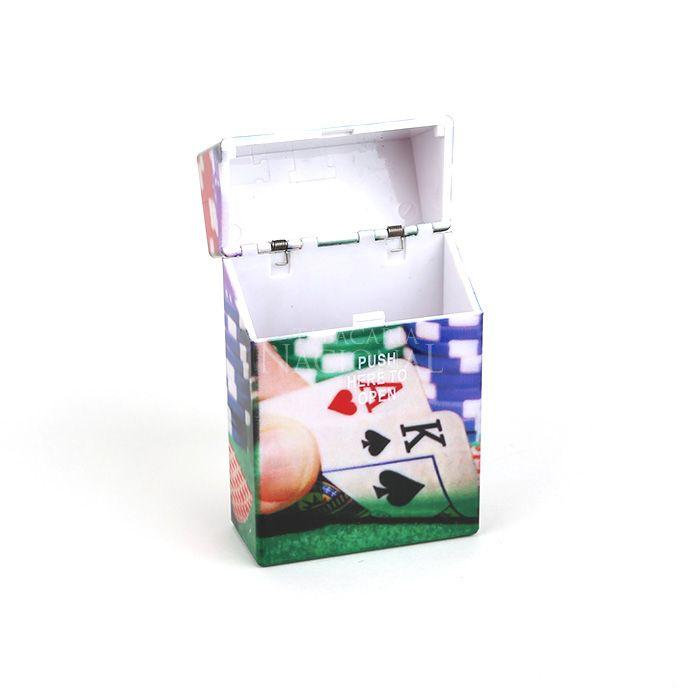 Cigarreira de Plástico - Cartas 1