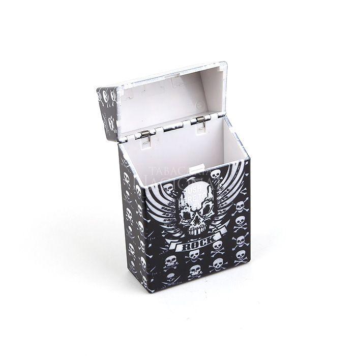 Cigarreira de Plástico - Caveira 4