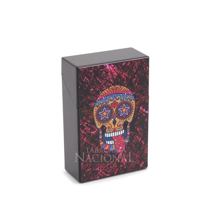 Cigarreira de Plástico - Caveira Mexicana 2