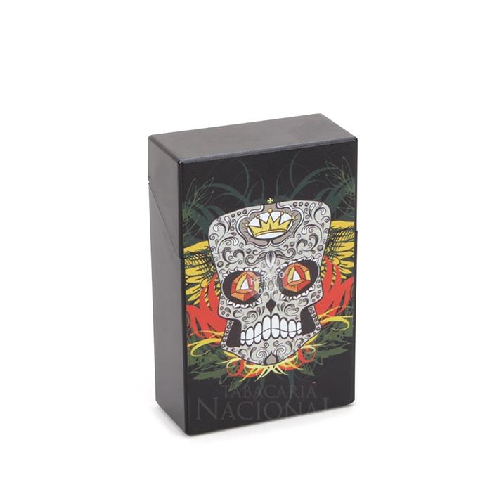 Cigarreira de Plástico - Caveira Mexicana 3´´