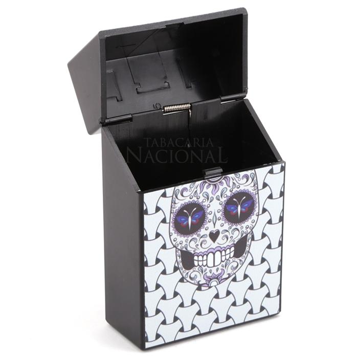 Cigarreira de Plástico - Caveira Mexicana 5´