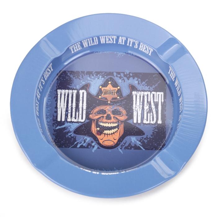 Cinzeiro de Alumínio para Cigarro - Wild West