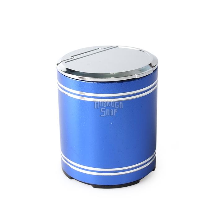 Cinzeiro de Plástico Portátil com Tampa - Cores