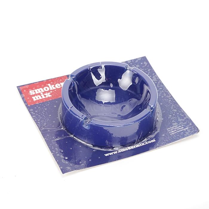 Cinzeiro de Silicone para 4 Cigarros Smoker Mix - Azul