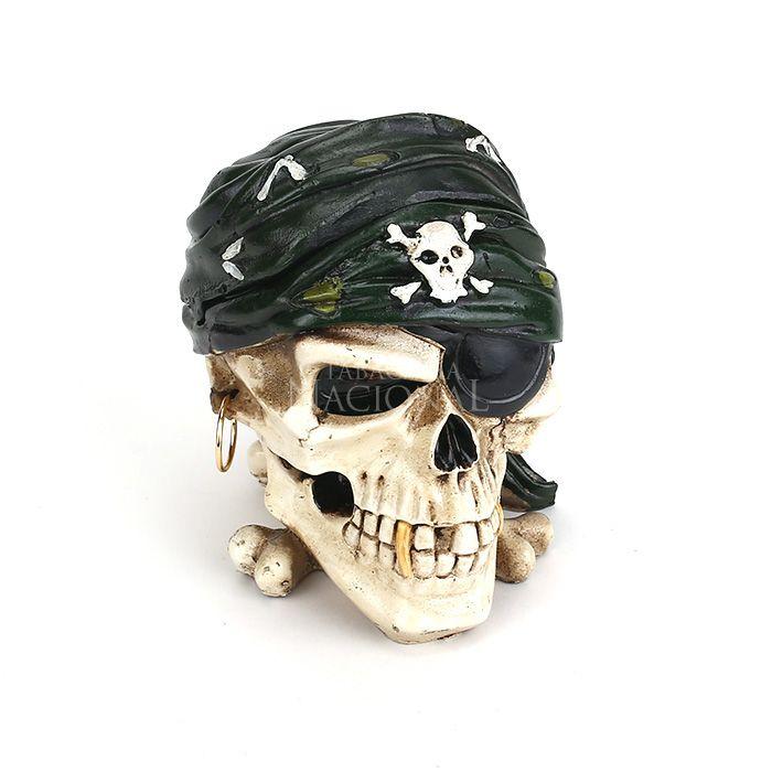 Cinzeiro para Cigarro - Caveira Pirata 2