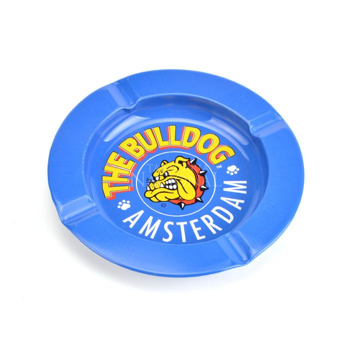 Cinzeiro para Cigarro de Alumínio The Bulldog - Azul