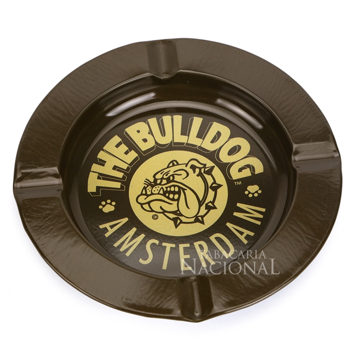 Cinzeiro para Cigarro de Alumínio The Bulldog - Marrom