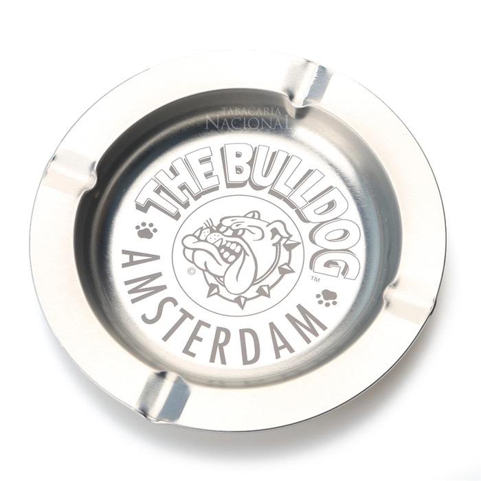 Cinzeiro para Cigarro de Alumínio The Bulldog - Prata