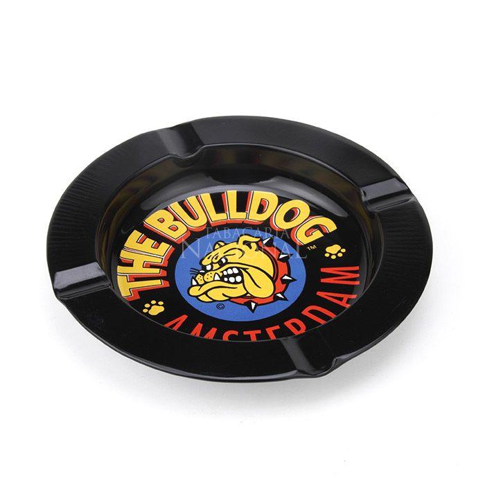 Cinzeiro para Cigarro de Alumínio The Bulldog - Preto