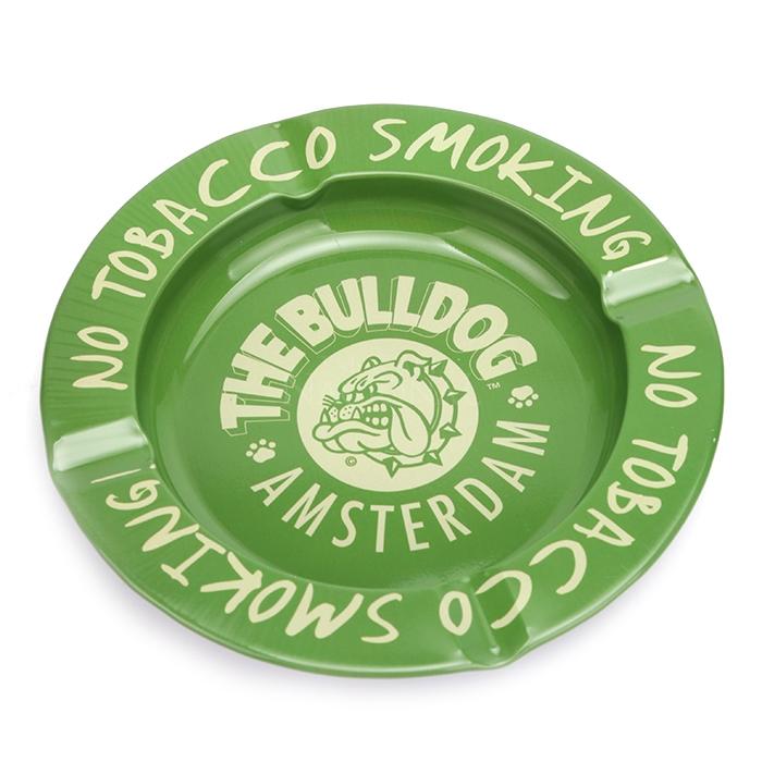 Cinzeiro para Cigarro de Alumínio The Bulldog - Verde
