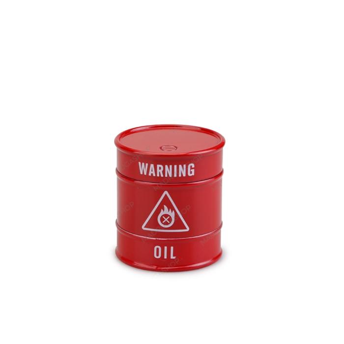 Dichavador de Metal Barril Pequeno - Vermelho