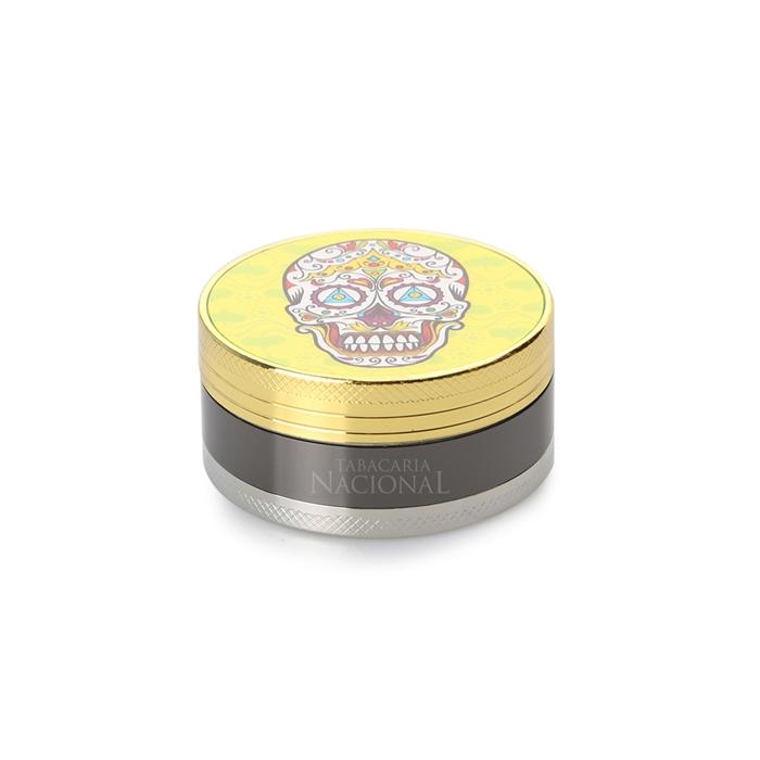 Dichavador de Metal Caveira Mexicana - Mod. 6 (Sortido) ´