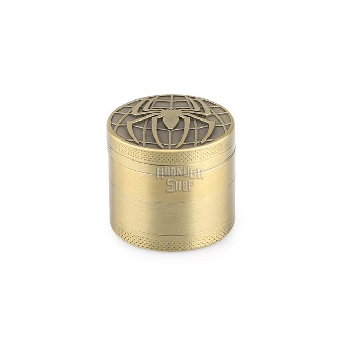 Dichavador de Metal Dourado Pequeno - Marvel (Homem-Aranha)