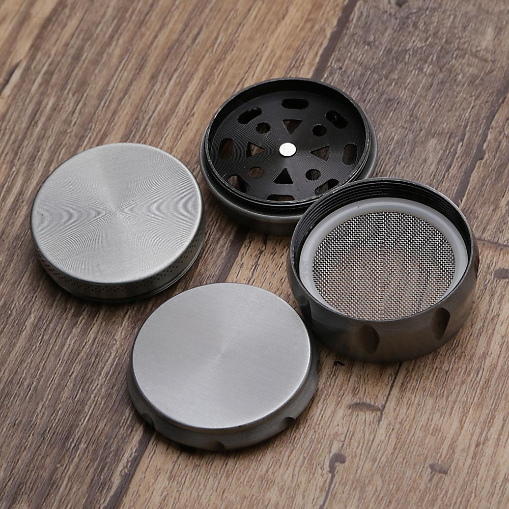 Dichavador de Metal Escovado Tambor - Chumbo