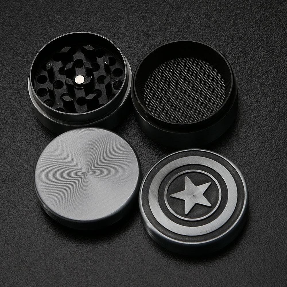 Dichavador de Metal Grafite - Marvel (Capitão América)