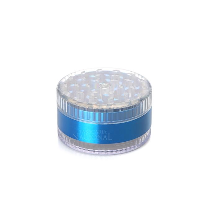Dichavador de Metal Grande - Acrilico Azul