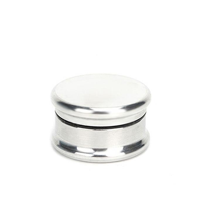 Dichavador de Metal Liso Pequeno - Cromado