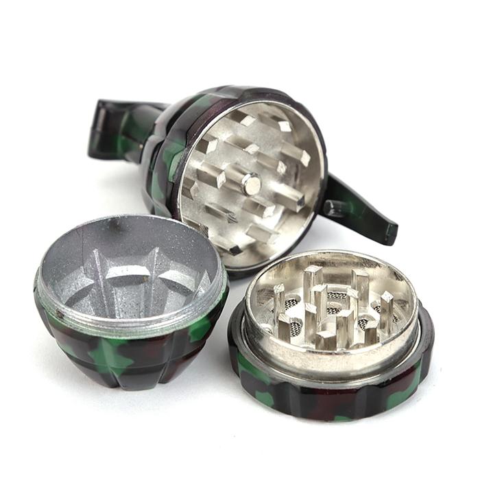 Dichavador de Metal Mini - Granada Camuflada