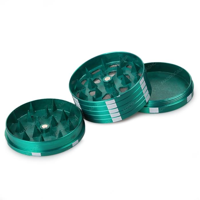 Dichavador de Metal Poker Chips - Verde´