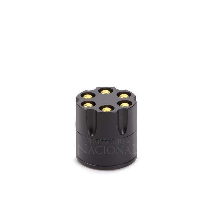 Dichavador de Metal Tambor Mini - Preto