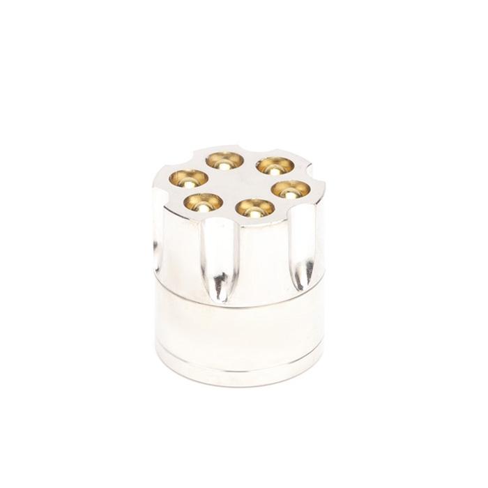 Dichavador de Metal Tambor Pequeno - Prata