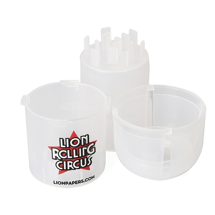 Dichavador de Plástico - Lion Rolling Circus - Branco