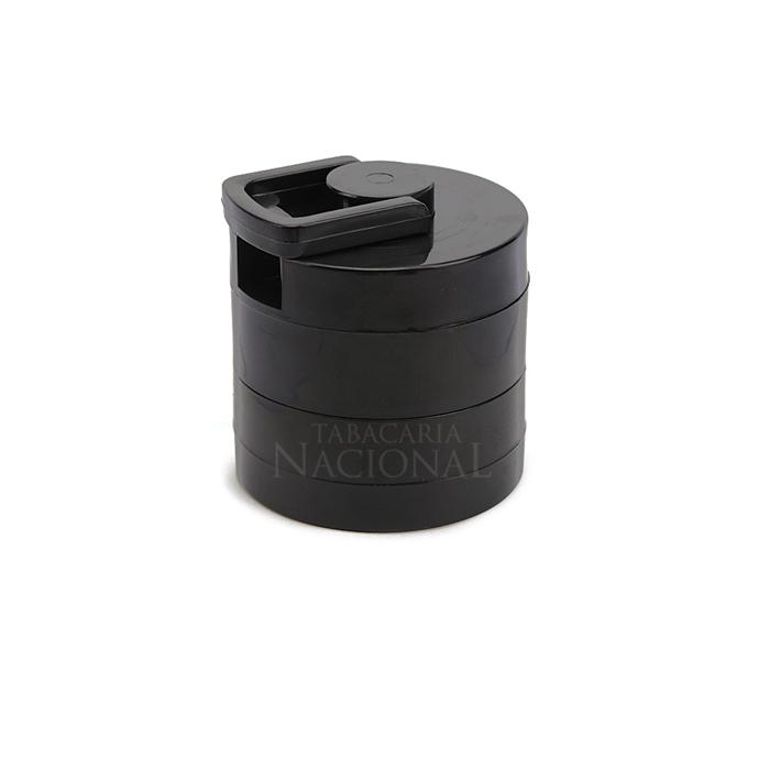 Dichavador de Plástico Manivela - Preto