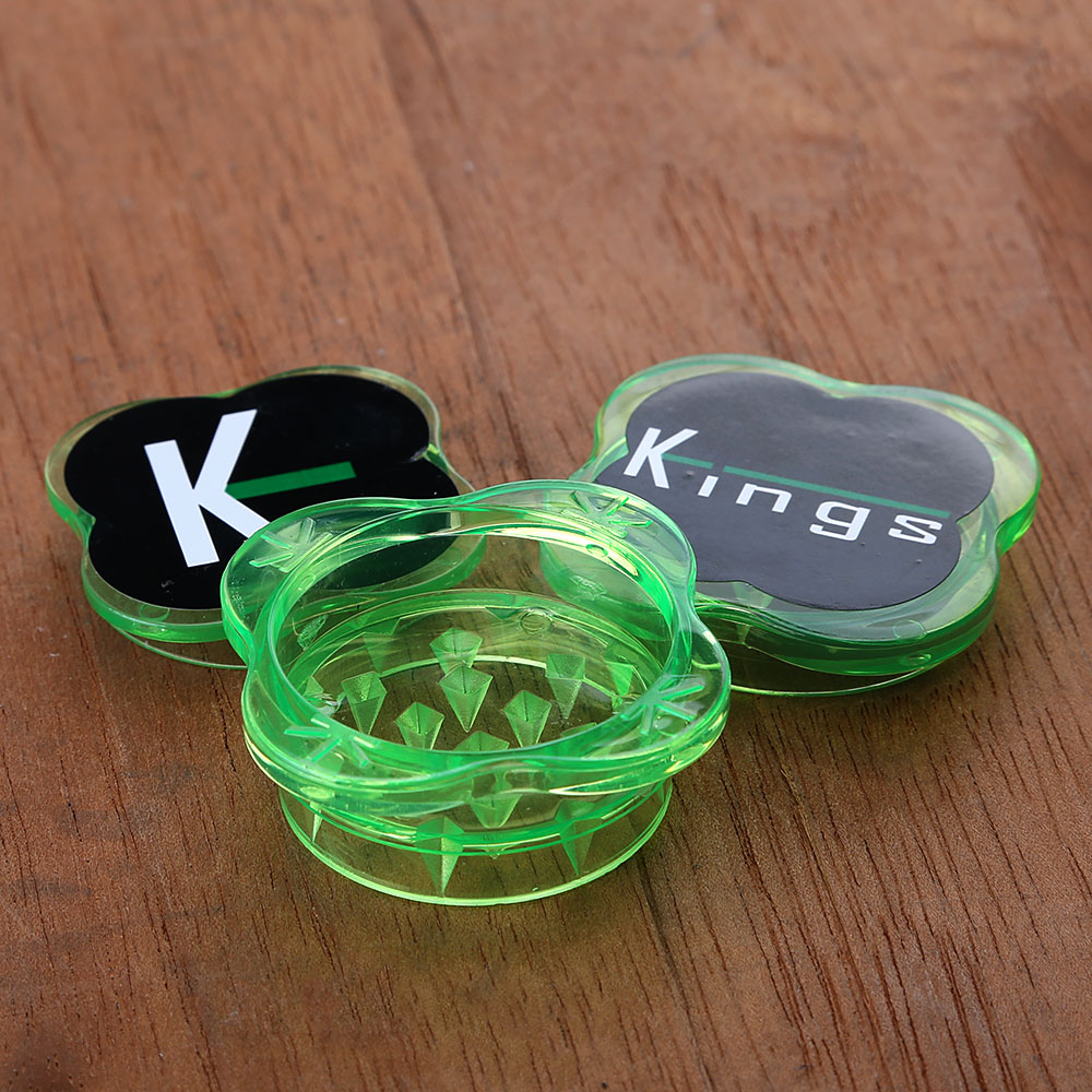 Dichavador de Policarbonato Kings Pequeno - Verde