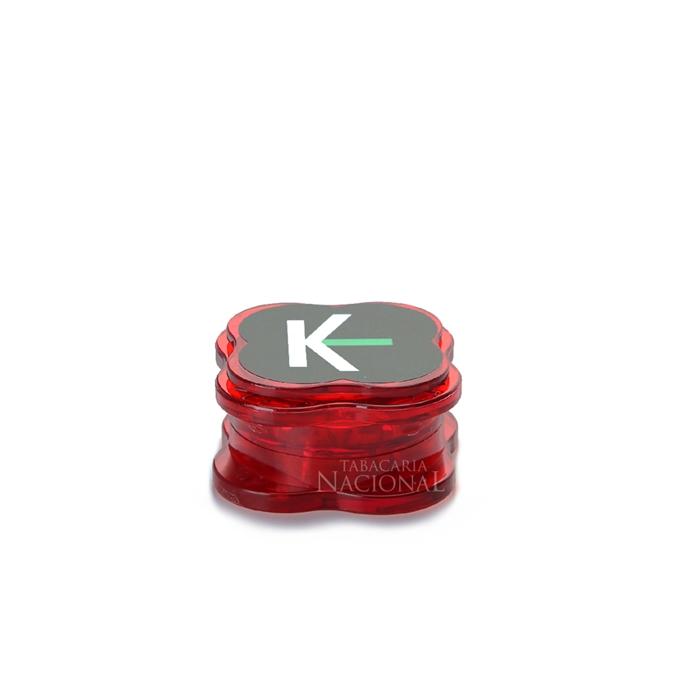 Dichavador de Policarbonato Kings Pequeno - Vermelho
