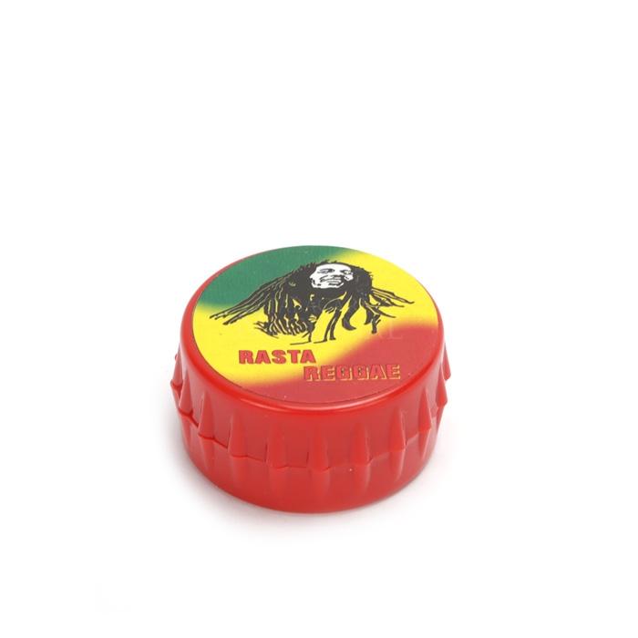 Dichavador Tampinha Vermelha - Bob Marley Rasta Reggae´´