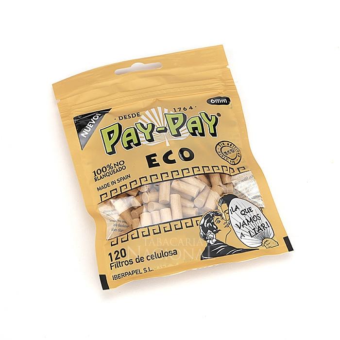 Filtro para Cigarro Pay-Pay Eco Slim de 6mm (Pacote com 120)