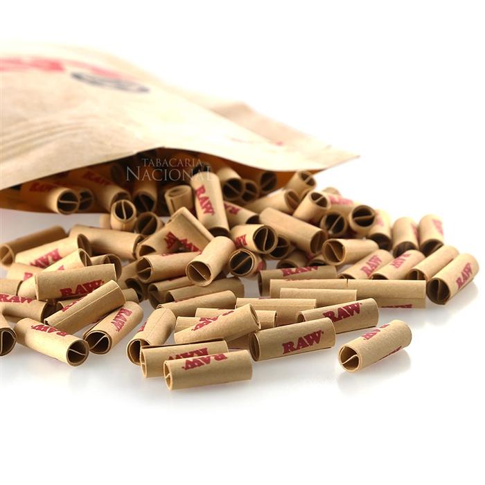 Filtro para Cigarro Pré Enrolado RAW (Pacote com 200)