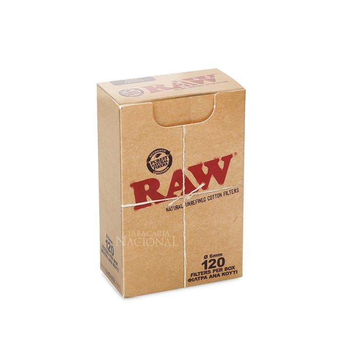 Filtro para Cigarro RAW (Caixa com 120)