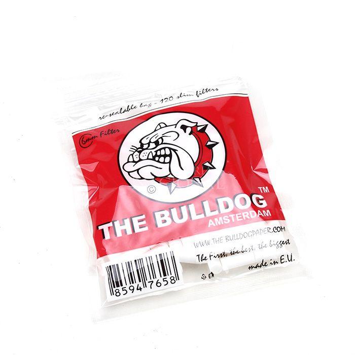 Filtro para Cigarro The Bulldog Slim de 6mm (Pacote com 120)