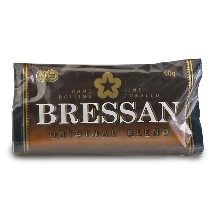 Fumo para Cigarro Bressan Original - Pacote 40g com Seda