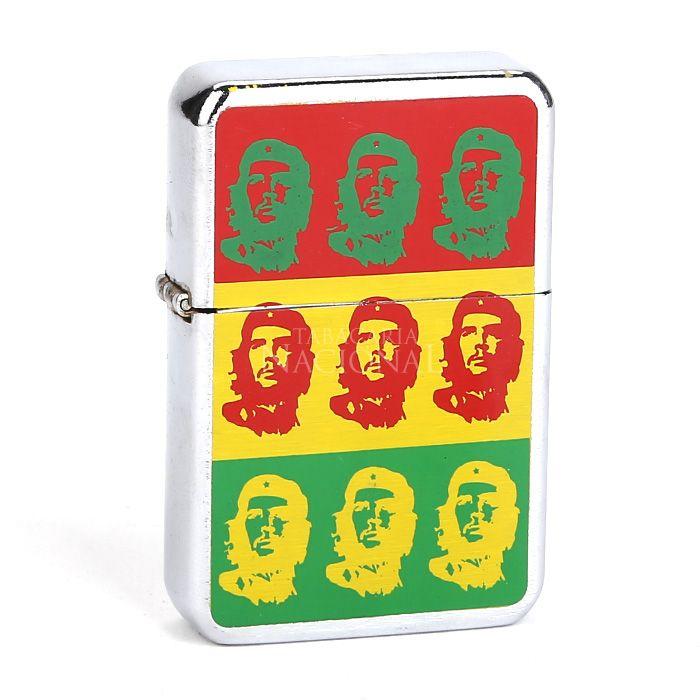 Isqueiro Star Cromado - Che Guevara 3 (1 Face)´´