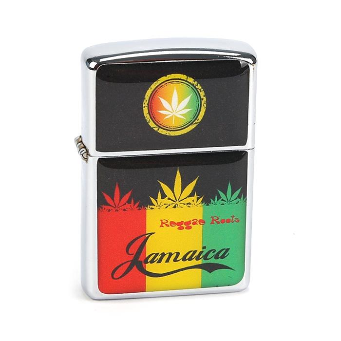 Isqueiro Star Cromado - Jamaica (2 Face)´´