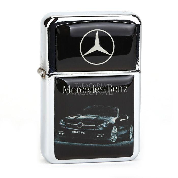 Isqueiro Star Cromado - Mercedes Benz (2 Faces)