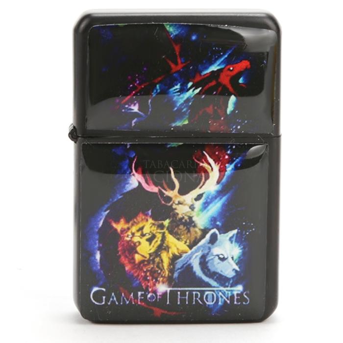 Isqueiro Star Preto - Game of Thrones 3 (2 faces)