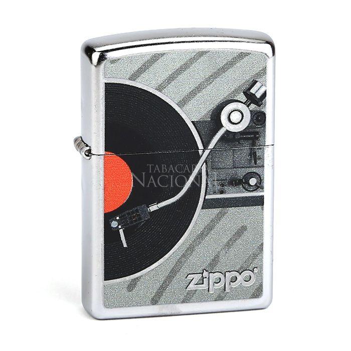 Isqueiro Zippo 207 - Vintage Record Player