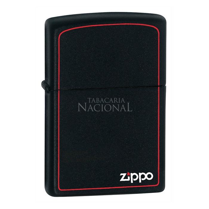 Isqueiro Zippo 218ZB - Borda Vermelha
