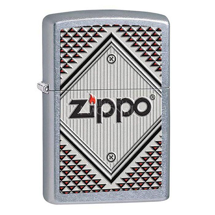 Isqueiro Zippo 28465 - Red and Chrome