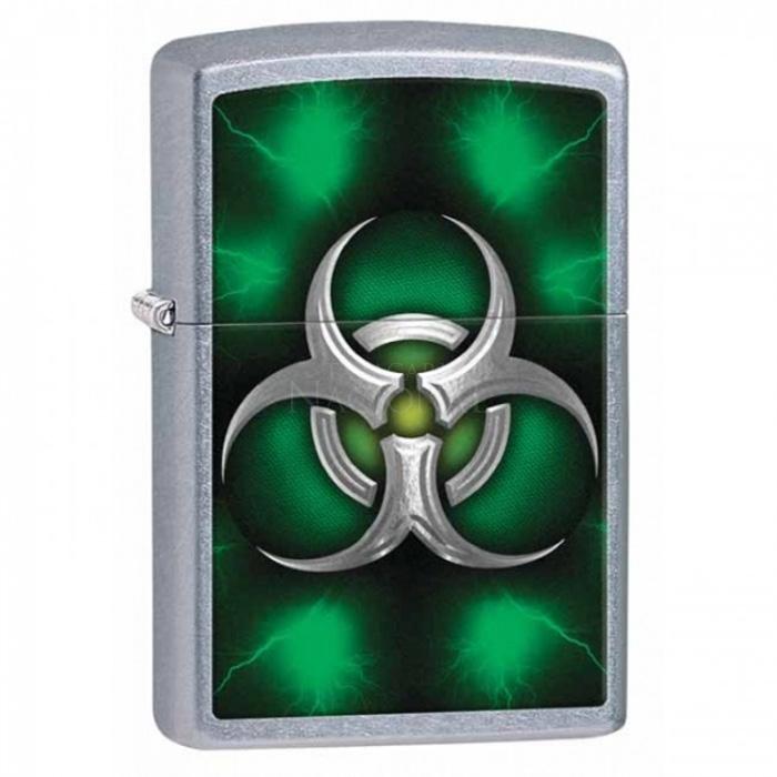 Isqueiro Zippo 28853 - Biohazard Green