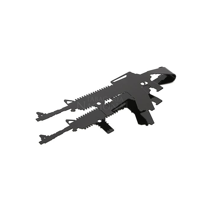Pegador de Carvão M16 - Preto