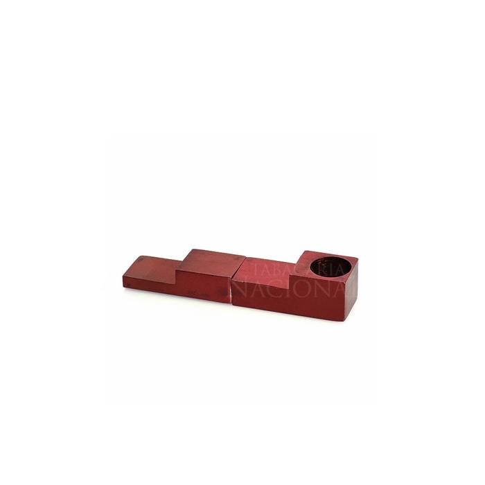 Pipe de Metal (Magnético) - Vermelho