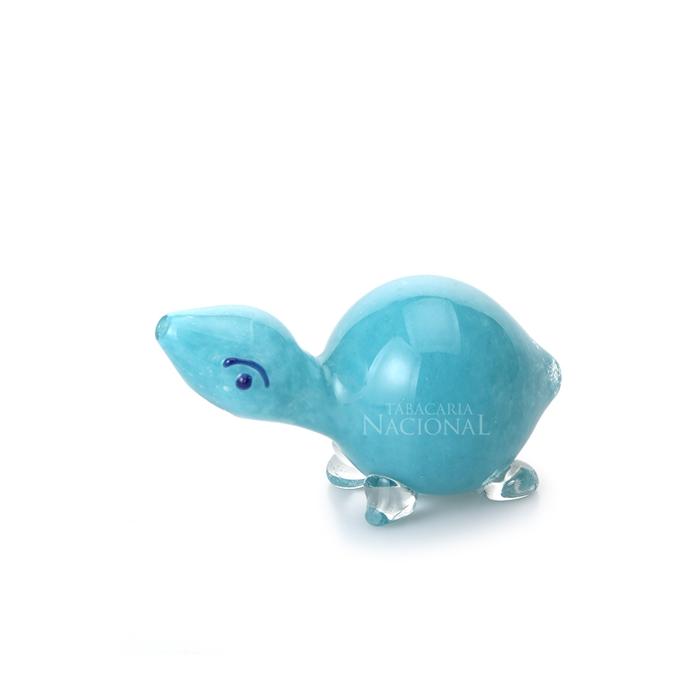 Pipe de Vidro Animale - Tartaruga Azul´´
