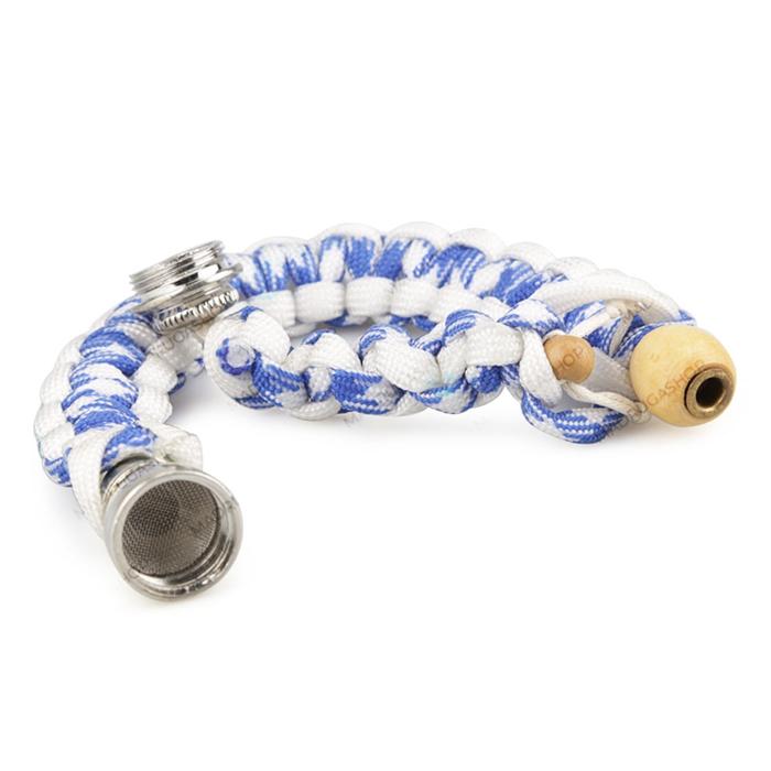 Pipe Pulseira - Azul e Branco