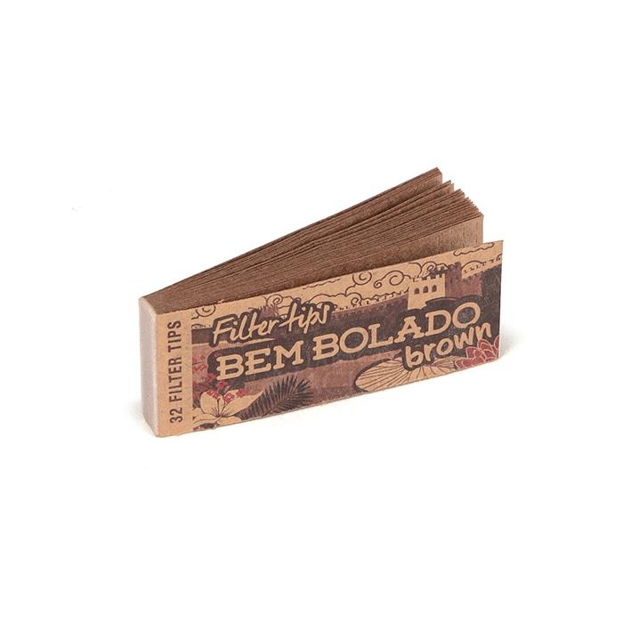 Piteira de Papel Bem Bolado - Brown (Caixa com 24)