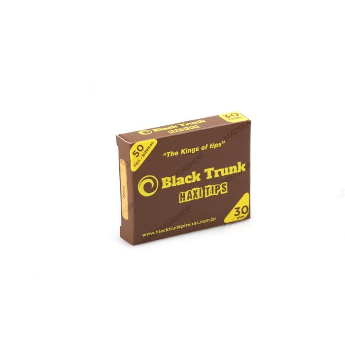 Piteira de Papel Black Trunk Haxi 30mm (Caixa com 20)